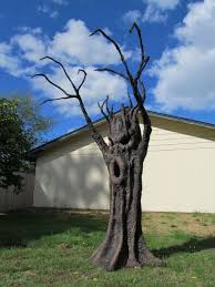 Scary Halloween Props For Haunted House by How To Make Haunted Forrest Trees For Halloween Props Spooky