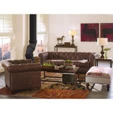 Home Decorators Collection Gordon Tufted Sofa by Home Decorators Collection Gordon Brown Leather Arm Chair