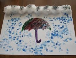 Rainy Day Preschool Crafts Kids Craft Activities R On D Umbrella For