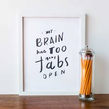 Goodies No 22 Art Illustration Quotes Words Brain