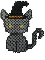Halloween Perler Bead Projects by Witchy Cat Halloween Perler Beads By Perlerhime On Deviantart
