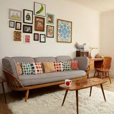 Taupe Sofa Living Room Ideas by Mid Century Rooms 79 Stylish Mid Century Living Room Design Ideas