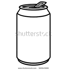 aluminium soda clipart