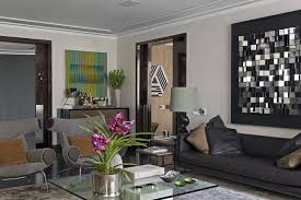 Grey Leather Sectional Living Room Ideas by Grey Room Apartment Furniture Decoration Ideas Interior Terrific
