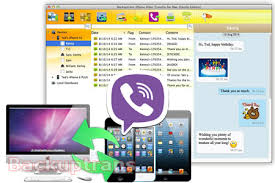 Copy iPhone Viber Chat Messages to puter or another iPhone