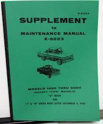 1963 GMC Truck Dealer Service Shop Manual Supplement X-6323 Models ... Scotts Hotrods 631987 Chevy Gmc C10 Chassis Sctshotrods 1963 Pickup For Sale Near Hemet California 92545 Classics On Trucks Mantrucks Pinterest Cars And Truck Dealer Service Shop Manual Supplement X6323 Models Gmc Parts Unusual 1960 Headlight Switch Panel 2110px Image 1 Tanker Dawson City Firefighter Museum Suburban Begning Photos Auto Specialistss Blog Truck Youtube Lacruisers 34 Ton Specs Photos Modification Info At 1500 2108678 Hemmings Motor News Dynasty The 1947 Present Chevrolet Message