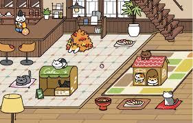 Neko Atsume Cafe Style Diy Stuff Cartoons Animated Cartoon Manga Comics Comic Books