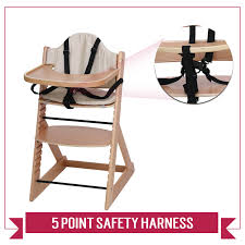 Wooden Baby High Chair | 3in1 Highchair With Tray And Bar (Beech ... Top 10 Best High Chairs For Babies Toddlers Heavycom Kidscompany Joie Mimzy Snacker Chair Petite City 16 2018 Comfy High Chair With Safe Design Babybjrn Graco Swift Fold Briar Walmartcom Spin Highchair Feeding From Pramcentre Uk The Nano Bloom Fdoo 5 Faveable Star Kidz Hotham Green Amazoncom Cosco Simple Deluxe Black Arrows Baby