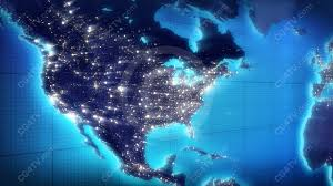 Our Stunning US Map Animated