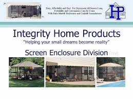 Patio Mate 10 Panel Screen Enclosure by Integrity Home Products Screen Enclosures Youtube