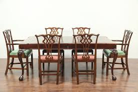 Henredon Rittenhouse Square Vintage Dining Table, Extends 10' 4