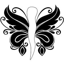 Italian Horn Butterfly Tattoo