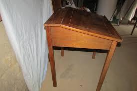 petit bureau en bois achetez petit bureau ancien occasion annonce vente à dareizé 69