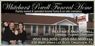 Christians In Business Whitehurst Powell Funeral Home Details