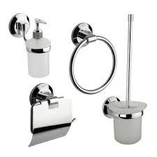 badezimmer set papierhalter wc bürste handtuchring seifenspender