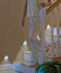 this set of 3 motion sensor stair lights illuminates your path