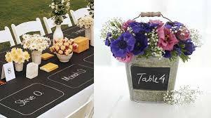 Wedding Table Decorations Uk Homey Design 12 Blackboard