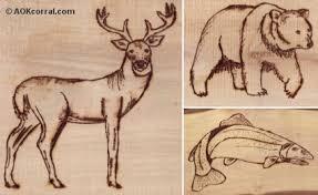 free wood burning patterns wildlife plans diy free download plans