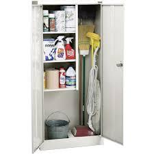 sandusky lee welded steel janitorial cabinet 30in w x 15in d x