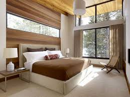 BedroomOutstanding Zen Bedroom Design Idea With Wood Wall Panels Also Cushioned Bed