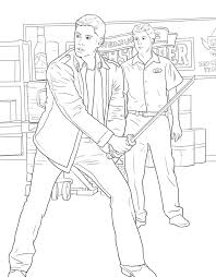 The Official Supernatural Coloring Book Monsters Demons And Spirits 9781683830283in02