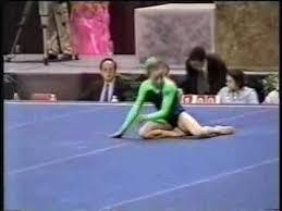 Gymnastic Floor Mats Canada by Crystal Gilmore 2000 Canadian Nationals Floor Youtube