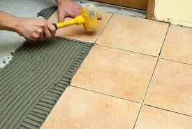 How To Lay Floor Tiles Concrete Lay Tile Floor Over Concrete