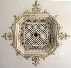 Split Design Ceiling Medallion by Ceiling Medallions With Crystals Decorative With Ceiling