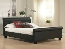 wholesale size sleigh beds best price faux leather sleigh beds