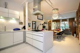 Rubber Floor Paint Stands Out In The Entire House White Kitchen