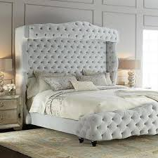 Roma Tufted Wingback Bed by Wingback Tufted White Chair Products Bookmarks Design