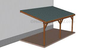 carport howtospecialist how to build step by step diy plans