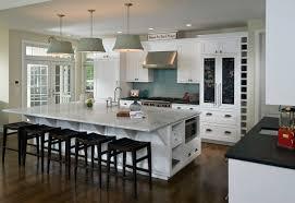 kitchen u shape white kitchen decoration using white