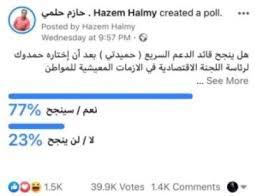 77 يتنبأون بنجاح القائد حميدتي وفق إستفتاء أجراه الإعلامي