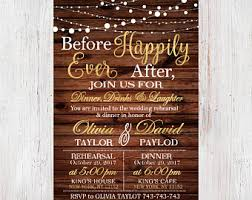 Wedding Rehearsal Dinner InvitationRustic Invite Printable Invitation Custom 14