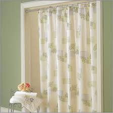 Bay Window Curtain Rods Walmart by Curtains Outstanding Top Green Wall Paint And Beautiful White