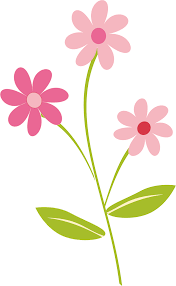 Cute Flower Border Clipart