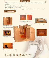 Infrared Therapy Lamp Canada by Therapy Sauna High Quality Far Infrared Sauna Portable Sauna Gw