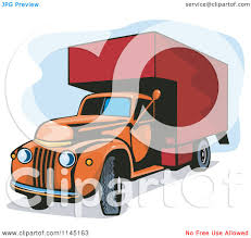 Clipart Of A Vintage Orange And Red Moving Van - Royalty Free Vector ... Clipart Of A Grayscale Moving Van Or Big Right Truck Royalty Free Pickup At Getdrawingscom For Personal Use Drawing Trucks 74 New Cliparts Download Best On Were Images Download Car With Fniture Concept Moving Relocation Retro Design Best 15 Truck Stock Vector Illustration Auto Business 46018495 28586 Stock Vector And