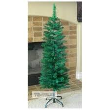 4 Foot Christmas Tree Feet Artificial Fir Pencil With Tapered Branch Tips Model
