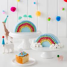 regenbogenkuchen zum kindergeburtstag rezept rainbow layer
