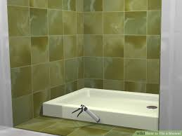 how to tile a shower with pictures wikihow