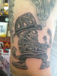 Irish Fire Fighter Tattoo
