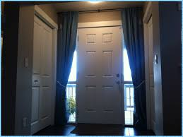 Front Door Sidelight Window Curtains by Decorations Front Door Side Window Curtains Sidelight Panels