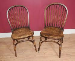 100 Dining Chairs Country English Style Set 8 Bow Back Windsor