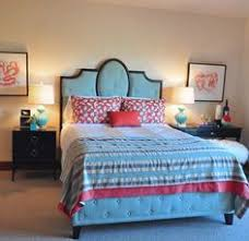 Joss And Main Carnaby Headboard by Pool Blue Bed Gorgeous With White Bedding Neat Stuff