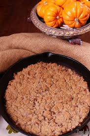 Pumpkin Pie With Pecan Streusel Topping by Skillet Crustless Pumpkin Pie With Streusel Topping Zagleft