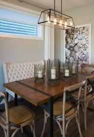Modern Farmhouse Style Dining Room