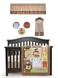 Amazon Com 4 Piece Baby amazon com kids line jungle walk 4 piece crib bedding set baby