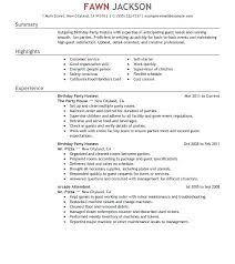 Hostess Resume Examples Samples Table Host Ideas Collection Skills